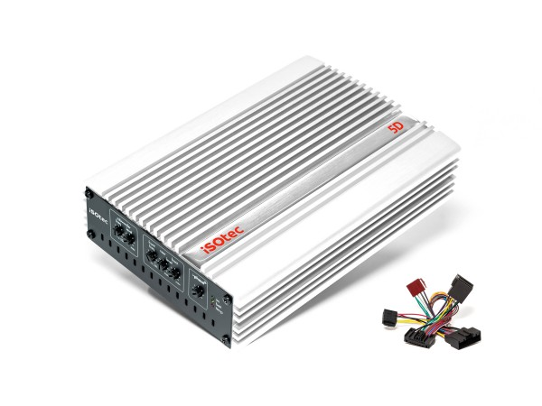 5D Digital-Verstärker | 470 Watt @ 4/2 Ohm | iPhase | special white edition