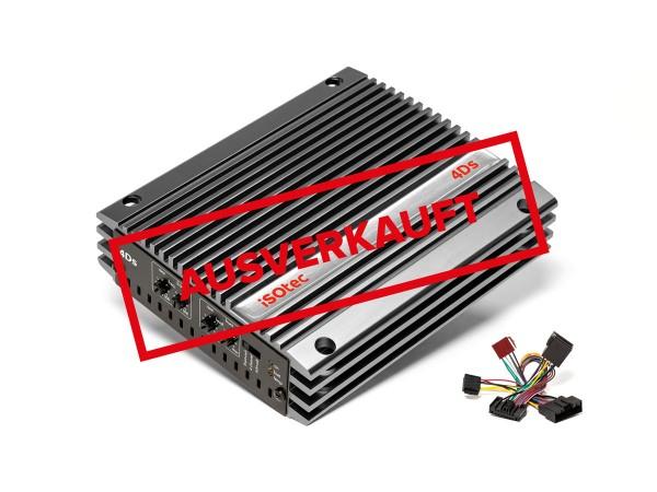 i-soamp 4DS | Digital-Verstärker 4x100 W @ 4 Ohm | plug & play | 2 Ohm stabil