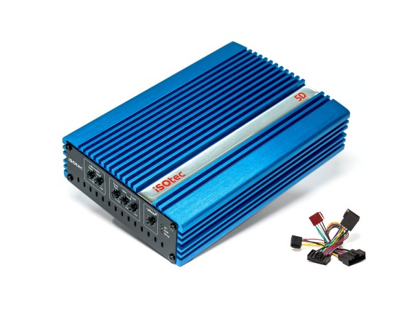5D Digital-Verstärker   470 Watt @ 4/2 Ohm   iPhase