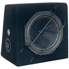 SUB SLW 265 | Kofferrraum-Woofer 25cm Speaker | 120 Watt | 92,5 dB