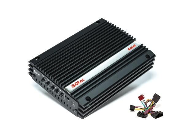 i-soamp 4one | Analog Verstärker 320 Watt | für Ford & Andere