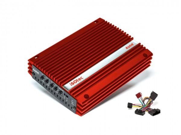 i-soamp 4one | Analog Verstärker 320 Watt | für Dacia & Andere