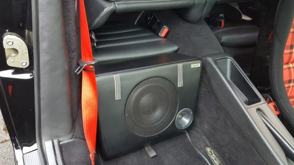 SUb964 | Rücksitz-Subwoofer | für Porsch 964