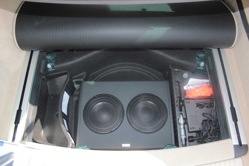 audi a4 b7 soundsystem verst rker plus subwoofer i. Black Bedroom Furniture Sets. Home Design Ideas